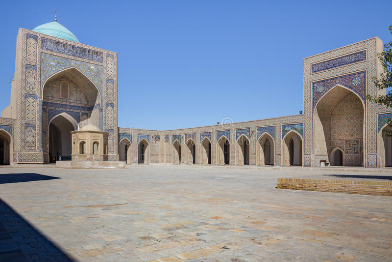 Moschea di Kalon a Buchara Buxoro, l'Uzbekistan fotografia stock