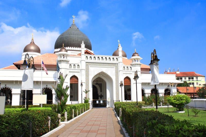 Moschea di Kapitan Keling, Georgetown, isola di Penang, Malesia fotografia stock