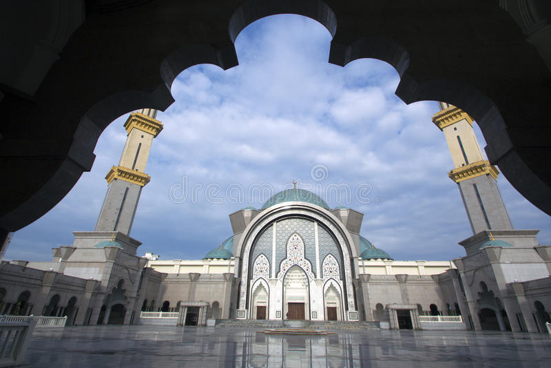 Moschea di Kuala Lumpur fotografia stock