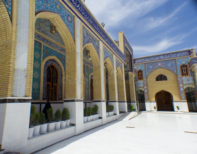 Moschea di Kufa fotografie stock