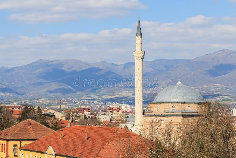Moschea di Mustafa Pasha, Skopje Macedonia immagini stock libere da diritti