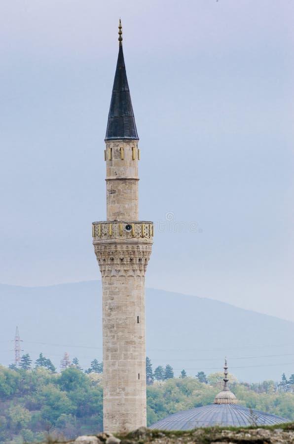 Moschea di Mustafa Pasha a Skopje, Macedonia immagine stock libera da diritti