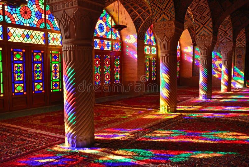 Moschea di Nasir-ol-Molk immagine stock