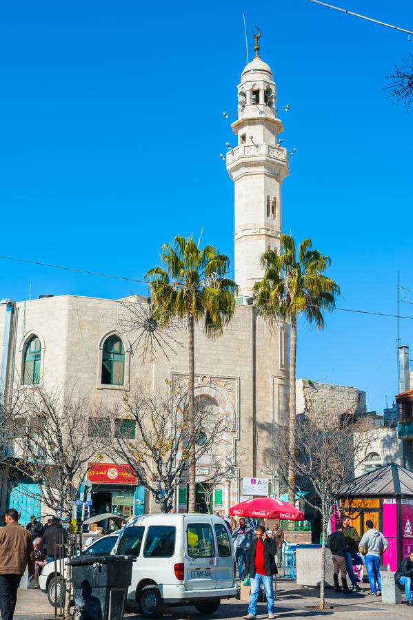 Moschea di Omar fotografie stock libere da diritti