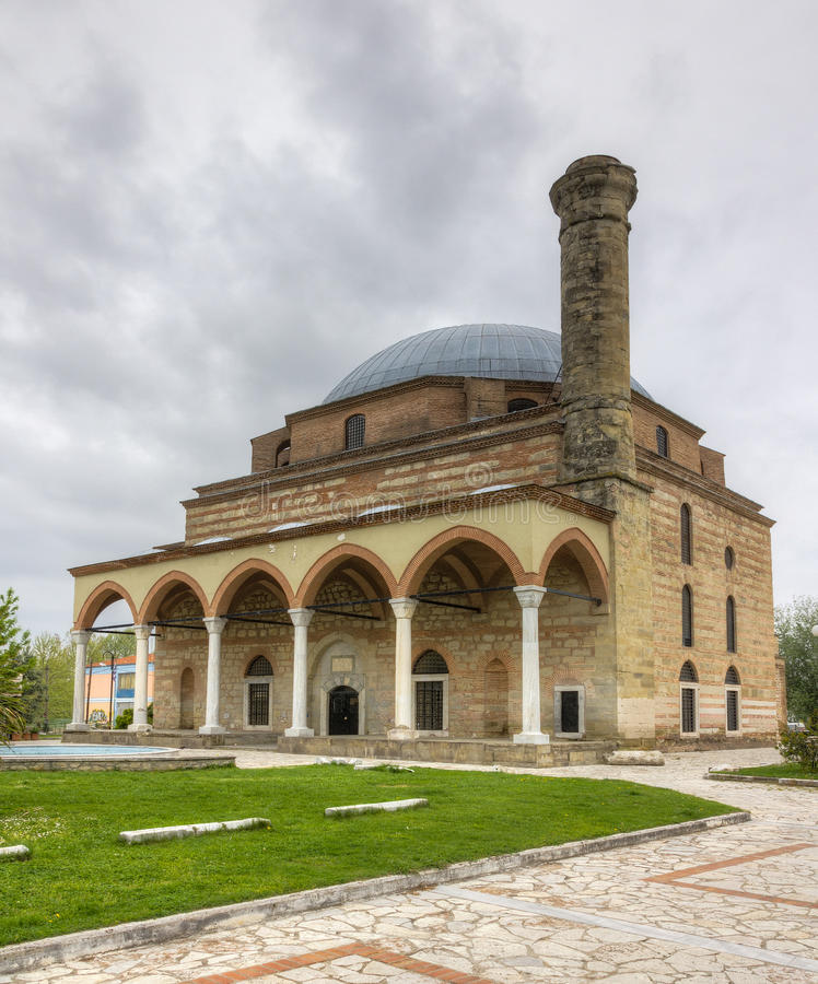 Moschea di Osman Shah, Trikala, Grecia immagine stock