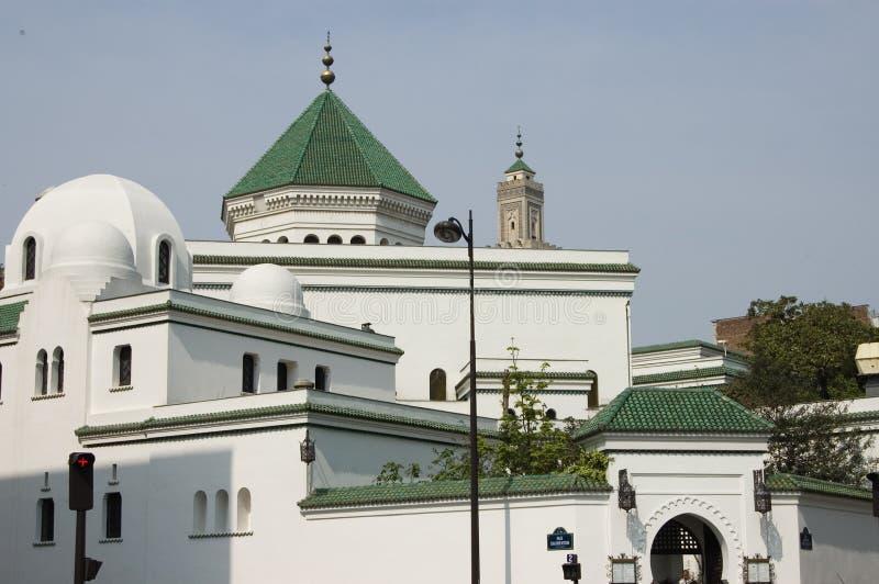 Moschea di Parigi fotografia stock libera da diritti