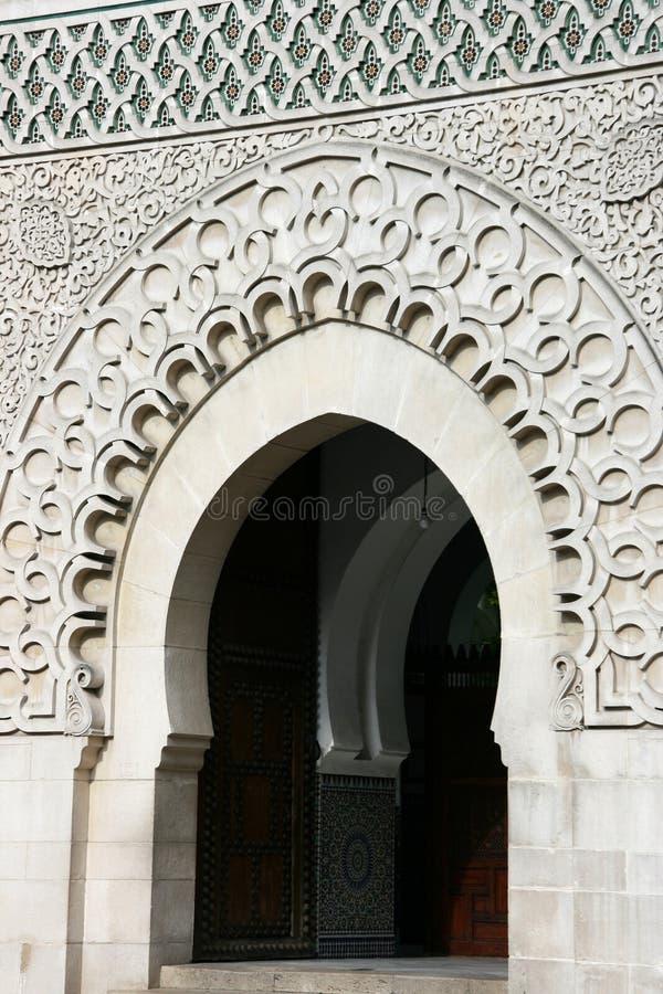 Moschea di Parigi immagini stock libere da diritti