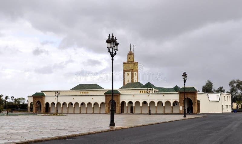 MOSCHEA DI ROYAL PALACE A RABAT fotografie stock