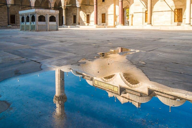 Moschea di Süleymaniye, Costantinopoli fotografia stock