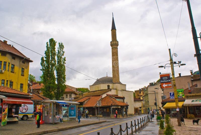 Moschea di Sarajevo immagine stock libera da diritti
