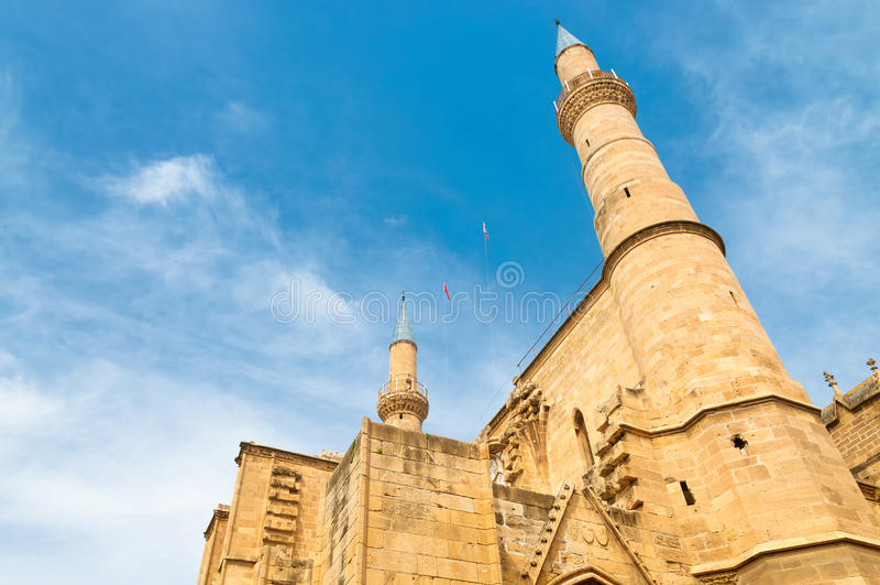 Moschea di Selimiye Nicosia, Cipro immagine stock libera da diritti