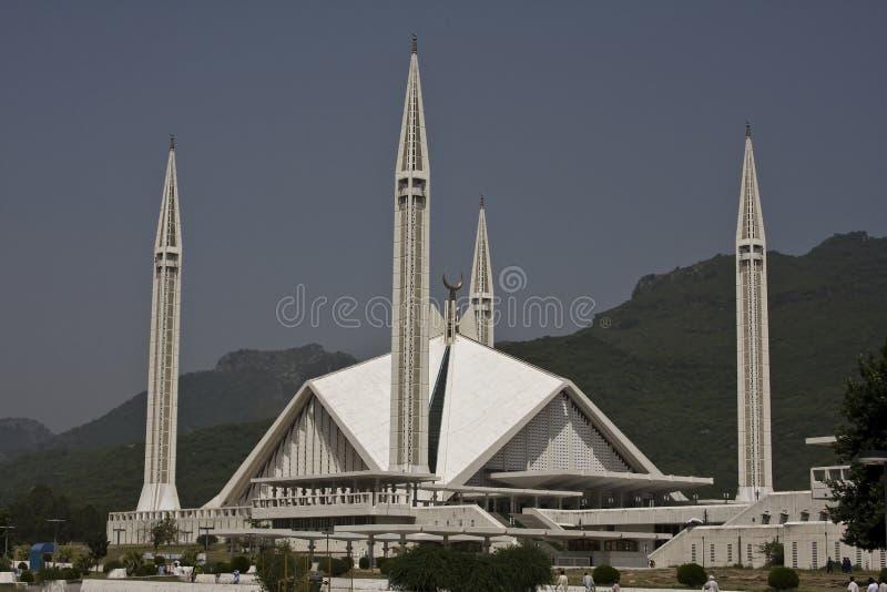 Moschea di Shah Faisal fotografie stock libere da diritti