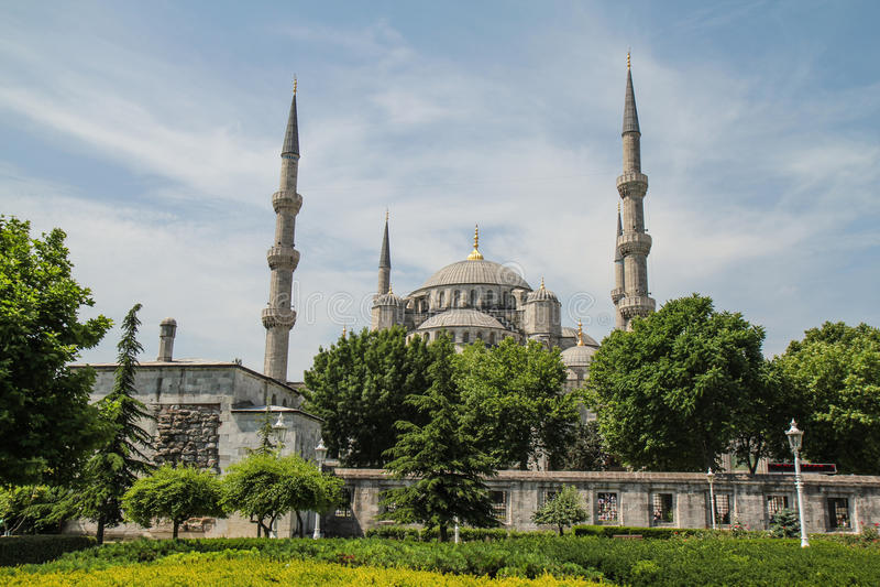 Moschea di Soliman fotografia stock