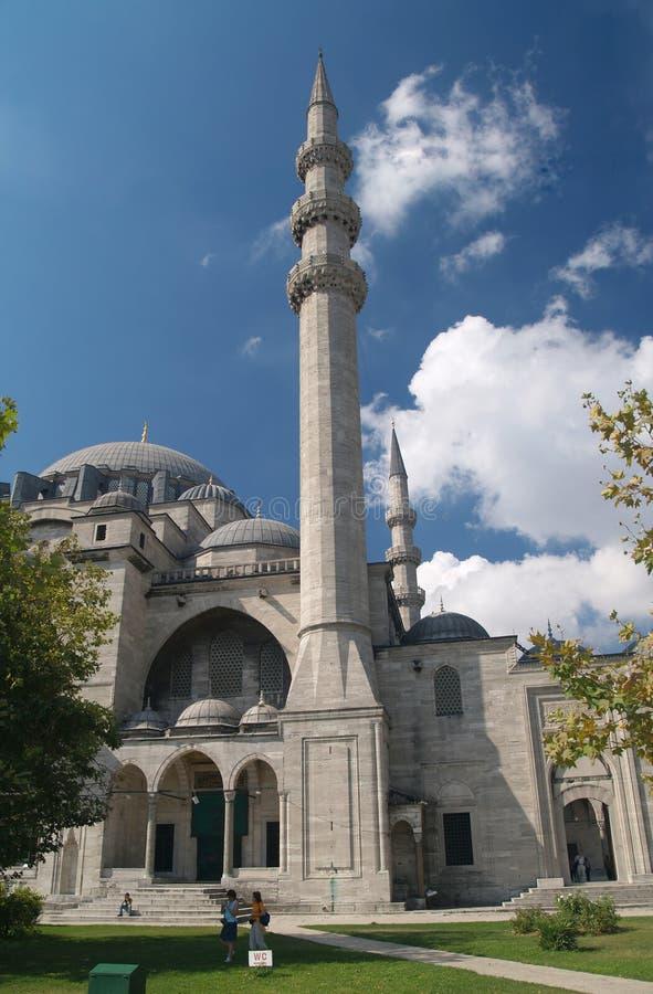 Moschea di Suleymaniye. fotografia stock