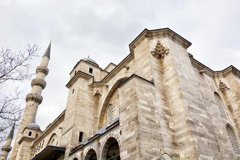 Moschea di Suleymaniye a Istanbul, Turchia fotografia stock libera da diritti