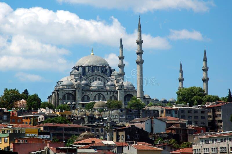 Moschea di Suliman il magnifico fotografie stock