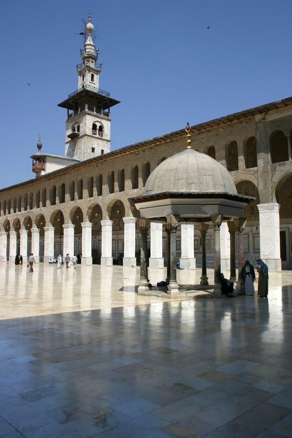 Moschea di Umayyad fotografia stock