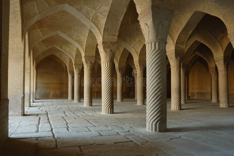 Moschea di Vakil, Iran fotografia stock