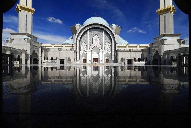 Moschea di Wilayah immagine stock libera da diritti