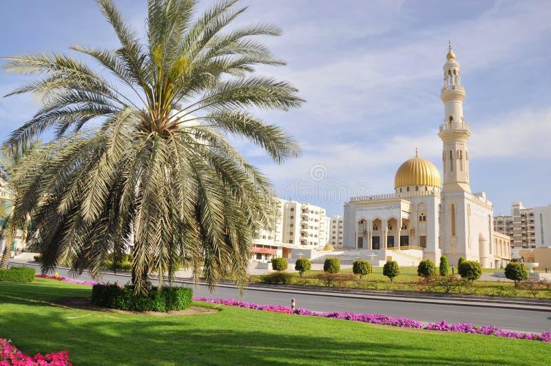 Moschea di Zawawi - moscato, Oman fotografia stock