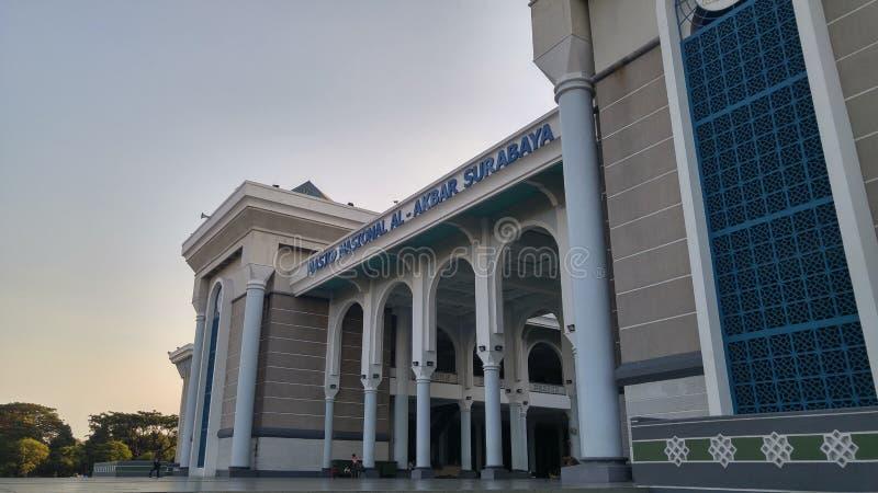 Moschea gigante a Soerabaya immagine stock