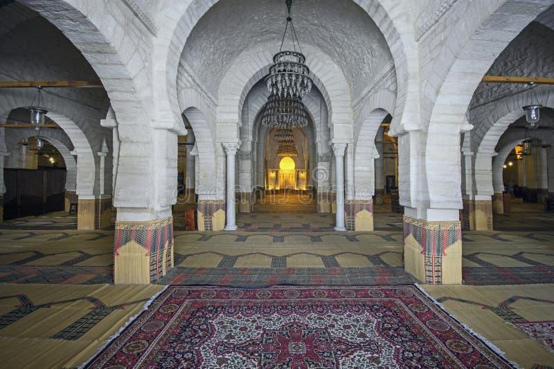 Moschea grande, Susa, Tunisia immagine stock