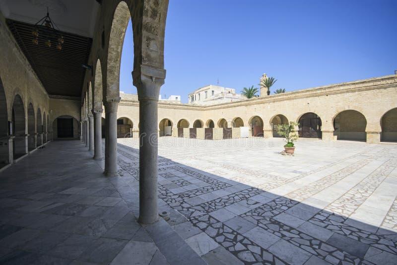 Moschea grande, Susa, Tunisia fotografie stock