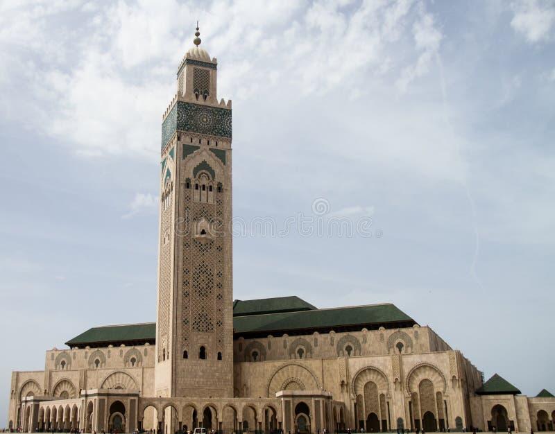 Moschea Hassan II fotografie stock