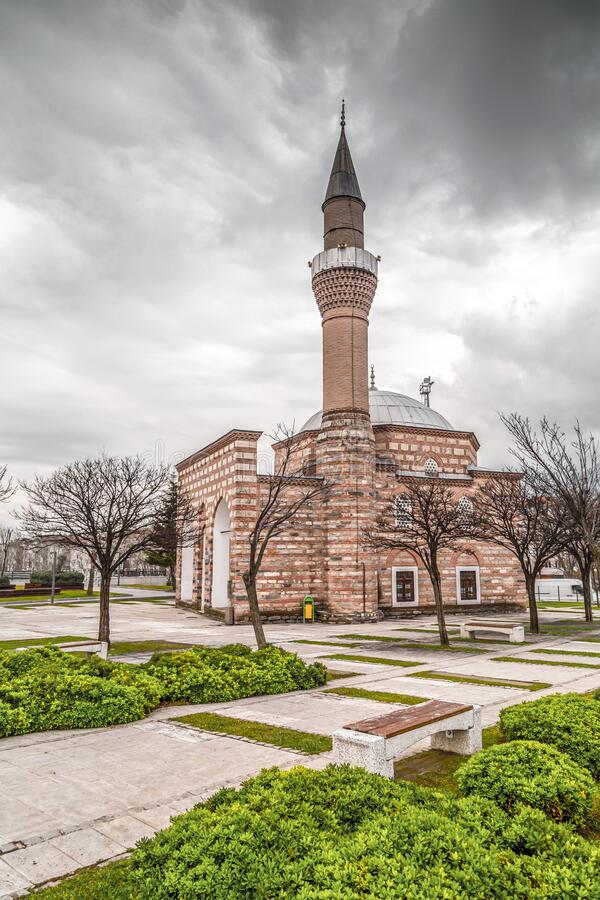 Moschea Hatice Isfendiyar a Bursa, Turchia fotografie stock