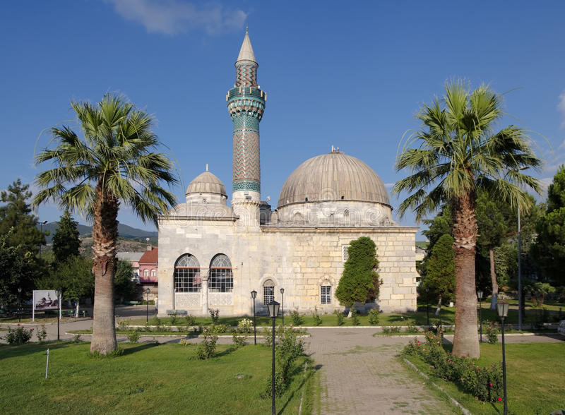 Moschea in Iznik, Turchia fotografia stock libera da diritti