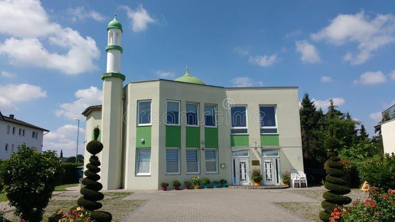 Moschea Jugesheim Germania fotografia stock