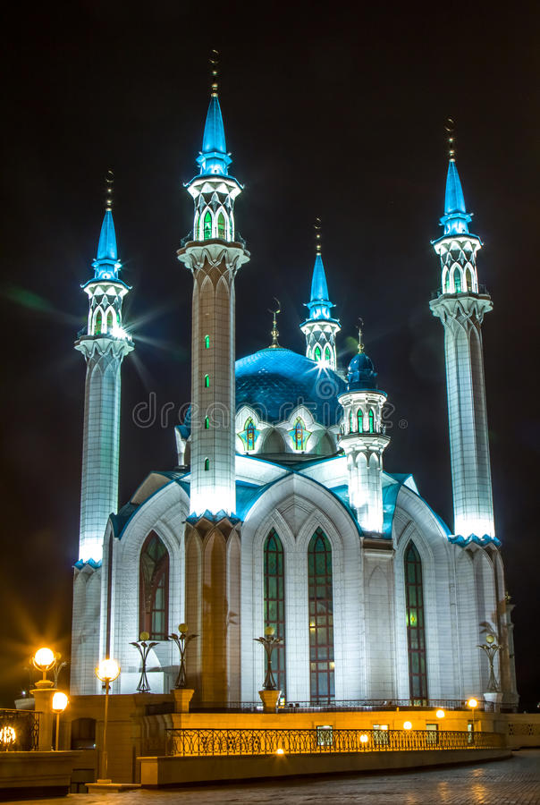 moschea a Kazan fotografia stock