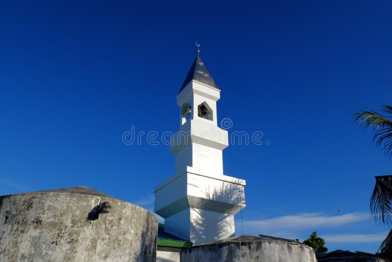Moschea Maldive fotografia stock libera da diritti