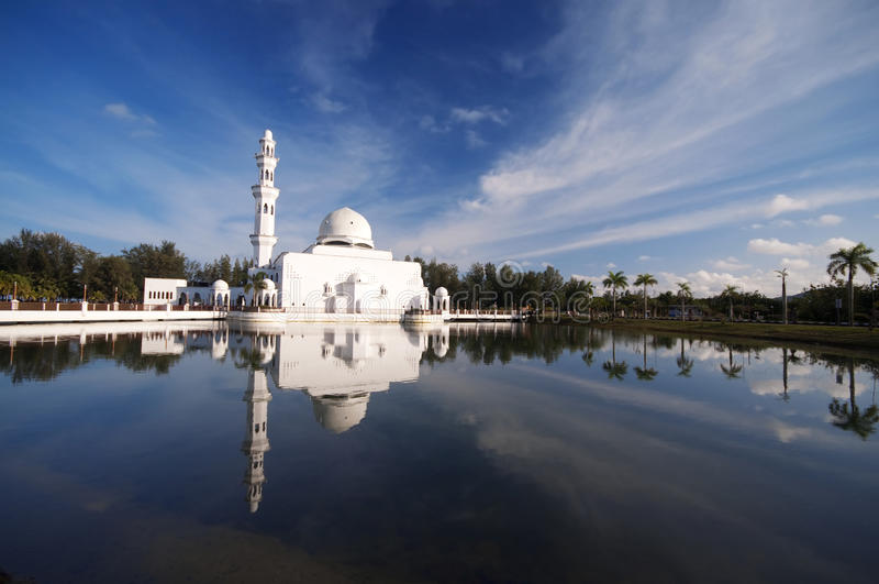 Moschea Malesia immagini stock libere da diritti