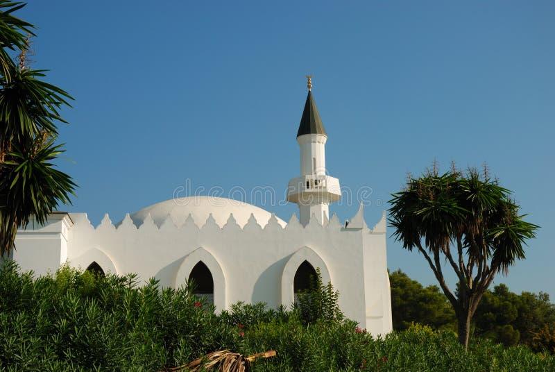 Moschea a Marbella fotografia stock