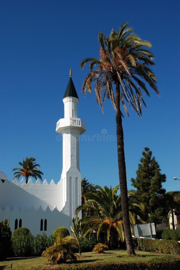 Moschea, Marbella, Spagna. fotografia stock libera da diritti