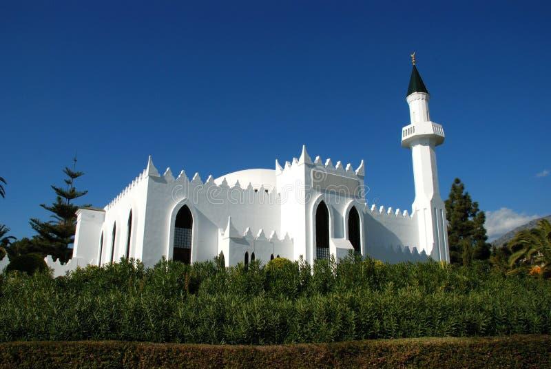 Moschea, Marbella, Spagna. immagini stock libere da diritti