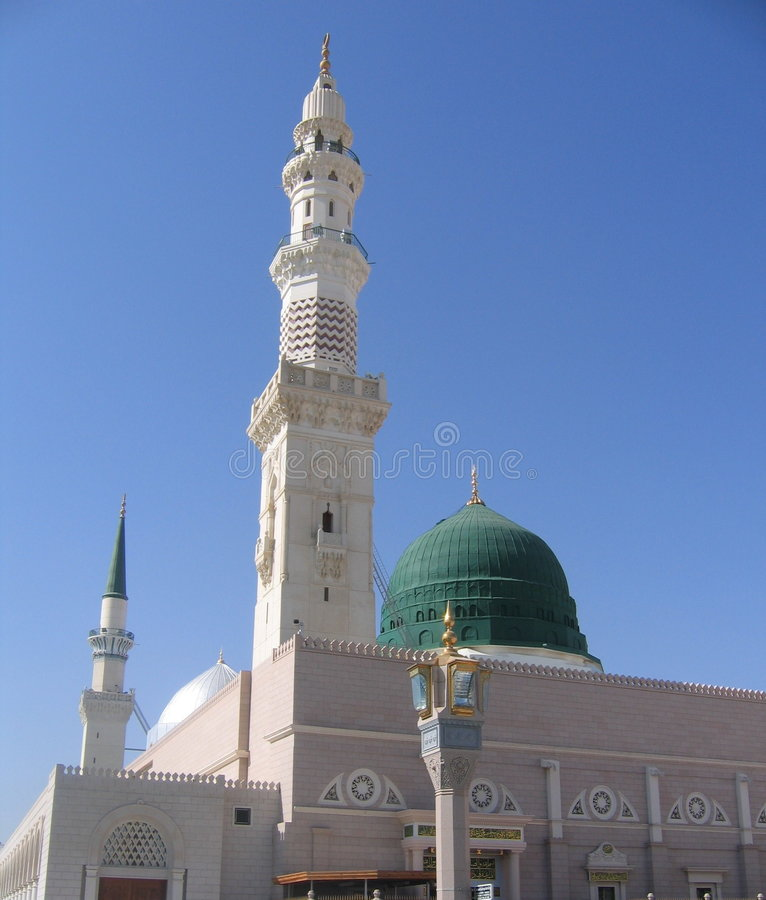 Moschea in Medina immagine stock libera da diritti