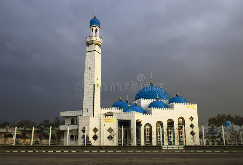 Moschea moderna fotografia stock