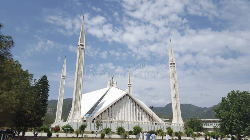 Moschea nel Pakistan fotografia stock libera da diritti