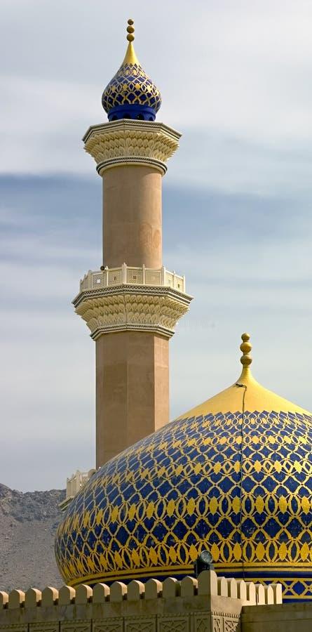 Moschea, Nizwa. immagine stock