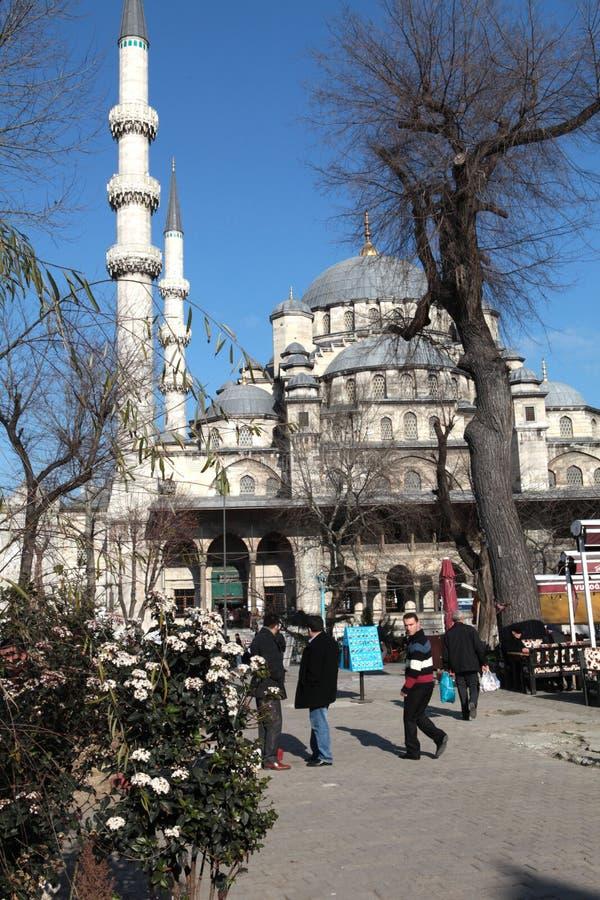 Moschea nuova a Costantinopoli fotografia stock libera da diritti