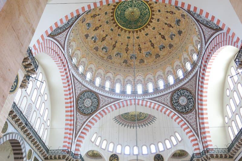 Moschea Suleymaniye Camisi di Suleymaniye a Costantinopoli, Turchia immagini stock libere da diritti