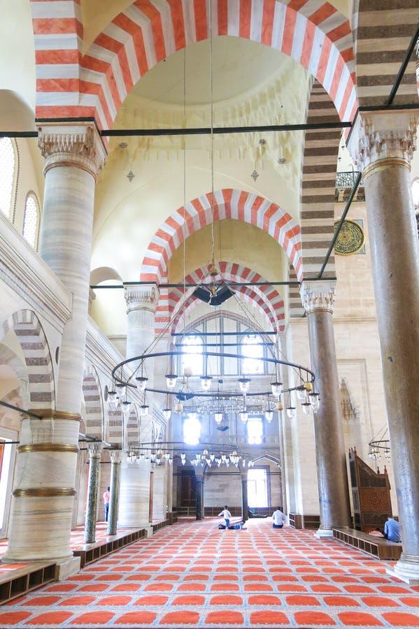 Moschea Suleymaniye Camisi di Suleymaniye a Costantinopoli, Turchia immagine stock libera da diritti
