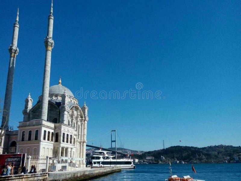 Moschea in tacchino fotografie stock libere da diritti