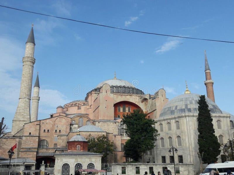 Moschea in tacchino fotografia stock