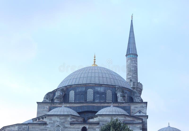 Moschea in tacchino fotografia stock libera da diritti