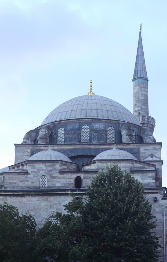 Moschea in tacchino fotografie stock