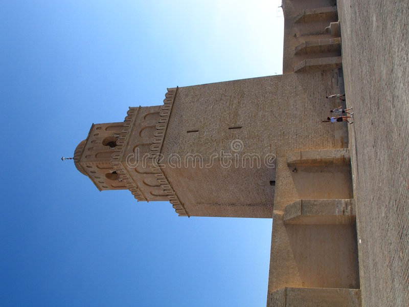 Moschea in Tunisia fotografia stock libera da diritti