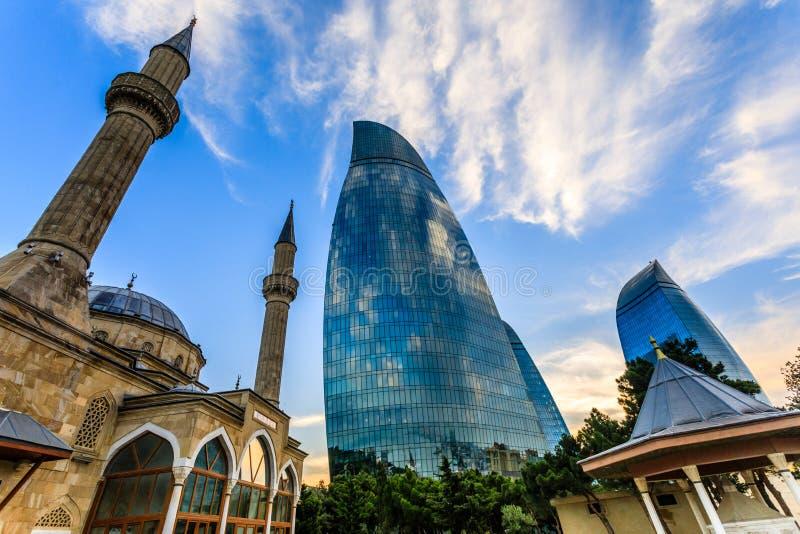 Moschea turca dei martiri e dell'affare centrale di vetro moderno immagine stock libera da diritti